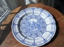 ELEGANT SPODE BLUE ROOM CALENDAR PLATE 2000 FIFTH IN SERIES LOVELY SHADES EX CON